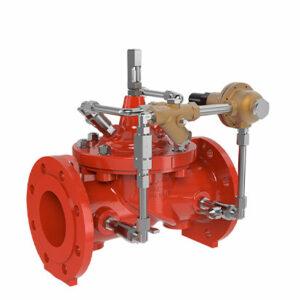 Válvula reductora de presión con función anti retorno